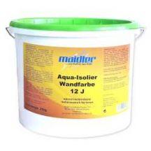 Aqua-Isolier Wandfarbe 12J - weiß  | Extrem stark deckend für Innen