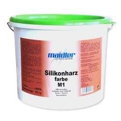 Silikonharz- Fassadenfarbe M1 | hochdeckend für Außen (Klasse 2)